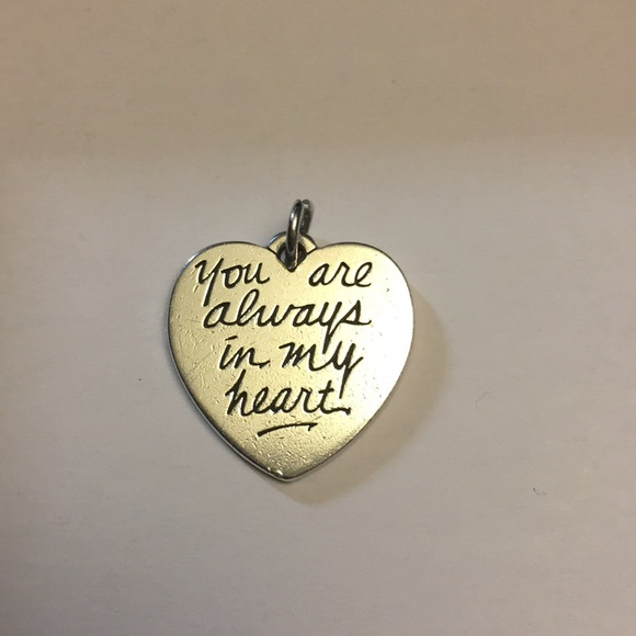 2b3d92b498fe1 James Avery you are always in my heart charm